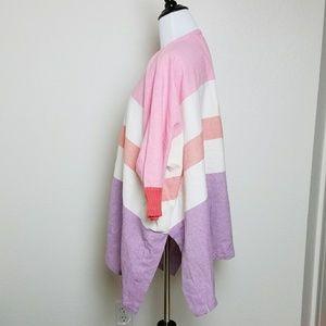 Hei Hei Tops - Hei Hei Kaden Striped Cotton One Size Kimono